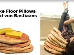 pancake pillows by Todd Von Bastiaans