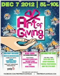 The Art of Giving…Top Tips for First Friday! by Jill Abelman in Las Vegas NV